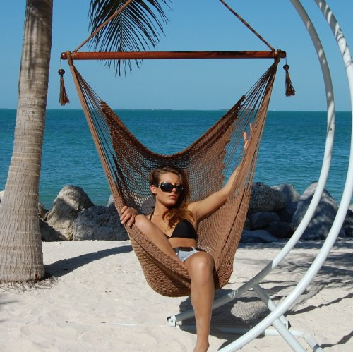 spun with hammocks weight inch lbs hammock soft polyester footrest green caribbean product chair capacity