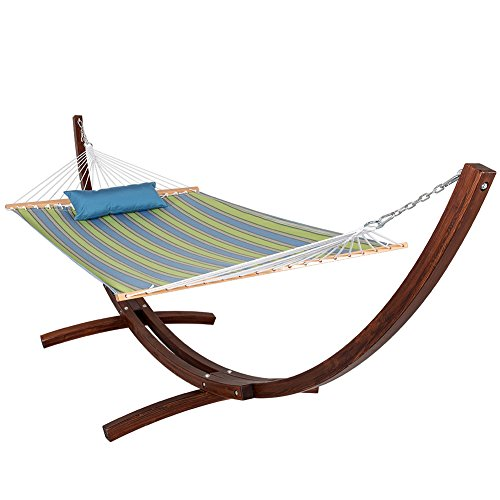 with hammock stand vivere double p cotton metropolitandecor combo and