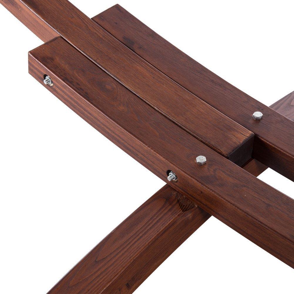 Lazydaze Hammocks 12 Feet Wood Arc Hammock Stand And Hammock