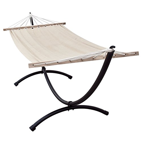 Apontus One Person Hammock with 9.8 ft Space Saving Steel Stand