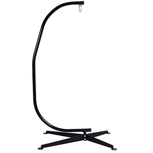 "Giantex C Hammock Frame Stand - 82.6"" Height - 300 lbs Weight Capacity"