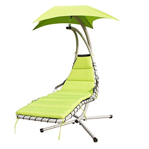 Tenive Swing Hammock Helicopter Chair - Lime Green