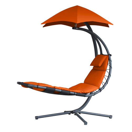 Vivere Original Dream Helicopter Chair - Orange Zest