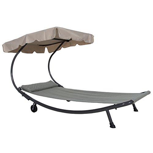 Abba Patio Portable Single Hammock Bed - 250 lb Weight Capacity