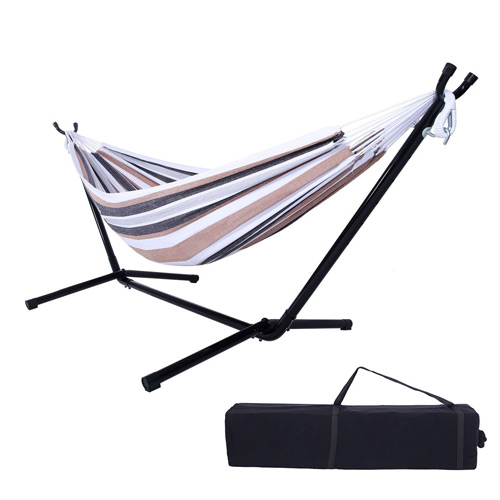 OnCloud 9 FT Hammock Stand with Double Hammock