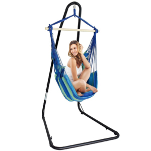 Sorbus Hammock Chair Swing Seat with Adjustable Stand