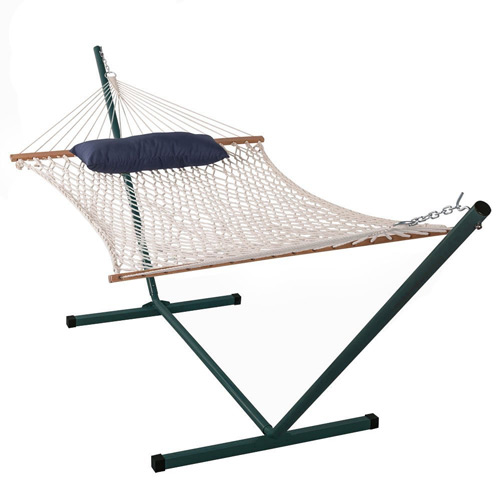 Sundale Outdoor 15 FT Hammock Stand with 2 Person Hammock