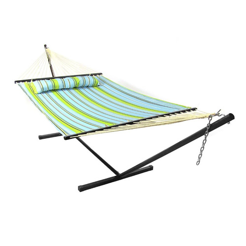 Sunnydaze 12 FT Hammock Stand with 2 Person Hammock