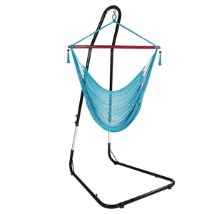 Sunnydaze Extra Large Hammock Chair with Adjustable Stand