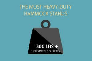 The most heavy duty hammock stands with the best weight capacities